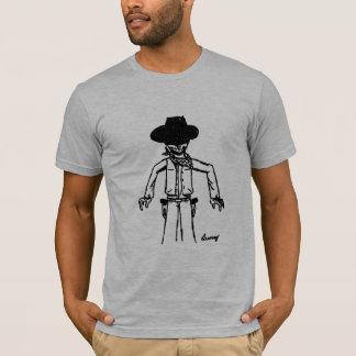 Cowboy Sketch Adult American Apparel T-Shirt