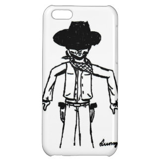 Cowboy Sketch iPhone 5 Savvy Case Case For iPhone 5C