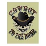 Cowboy Skull Postcard