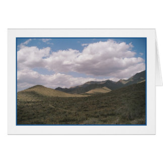 Cowboy Skyline Greeting Card