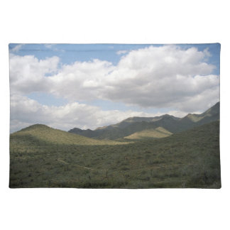 Cowboy Skyline Sonoran Desert Photo Placemat