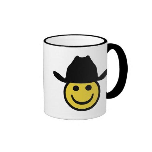 Cowboy Smiley Coffee Mug