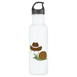 Cowboy Snail Stainless Steel Water Bottle