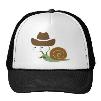 Cowboy Snail Trucker Hat