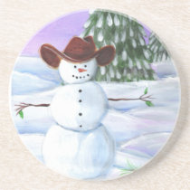 Cowboy Snowman Coaster