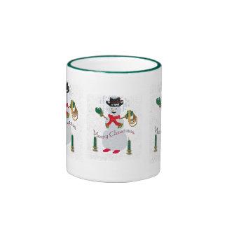 Cowboy Snowman Mug