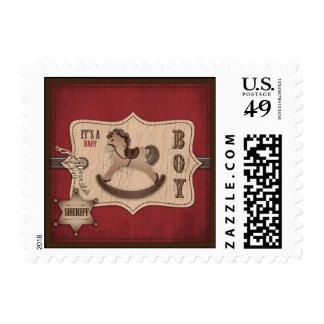 Cowboy Stamp B