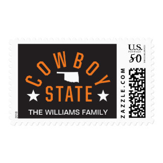 Cowboy State 3 Postage