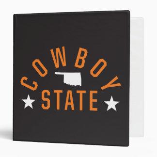Cowboy State Binder