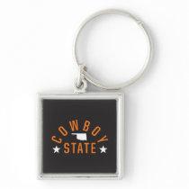 Cowboy State Keychain