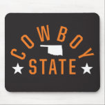 "Cowboy State Mouse Pad<br><div class=""desc"">Check out these official Oklahoma State University products! Personalize your own OSU Cowboy merchandise on Zazzle.com. These products are perfect for the OSU student,  alumni,  or fan in your life.</div>"