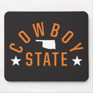 Cowboy State Mouse Pad