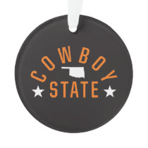 Cowboy State Ornament