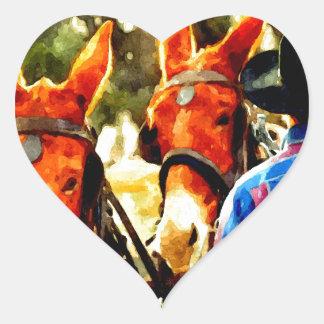Cowboy Heart Sticker