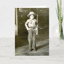 Cowboy Stylin' Card