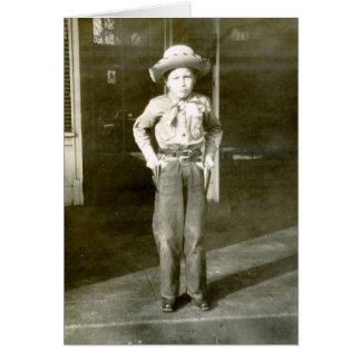 Cowboy Stylin' Greeting Card
