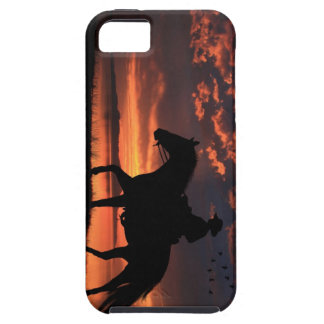 Cowboy Sunset iPhone 5 Cases