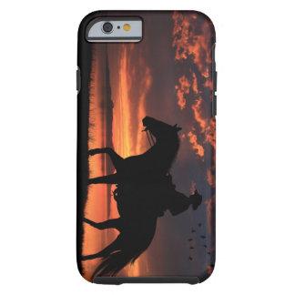 Cowboy Sunset Tough iPhone 6 Case