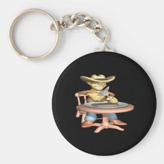 Cowboy Supper Key Chain