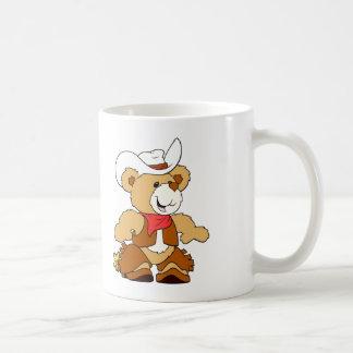 Cowboy Teddy Bear Coffee Mug