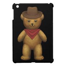 Cowboy Teddy Bear Cover For The iPad Mini