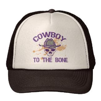 COWBOY TO THE BONE TRUCKER HAT