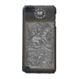 """""""Cowboy"""" Tooled Leather Western IPod Touch Case"""