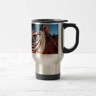 Cowboy travel mug. travel mug