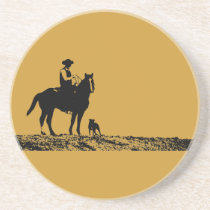 Cowboy Trio Coaster - Western Home Decor