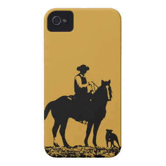 Cowboy Trio iPhone 4 Case - Case Mate Barely There