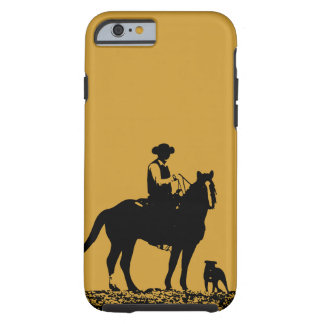 Cowboy Trio iPhone 6 case - Black and Gold