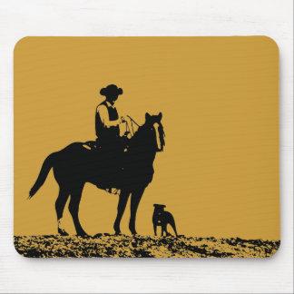 Cowboy Trio Mousepad