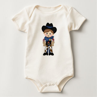 Cowboy Baby Bodysuits