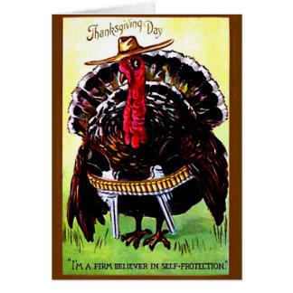 Cowboy Turkey - Card