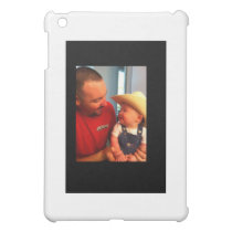 (COWBOY TYLER AND HIS DADDY) iPad MINI COVER