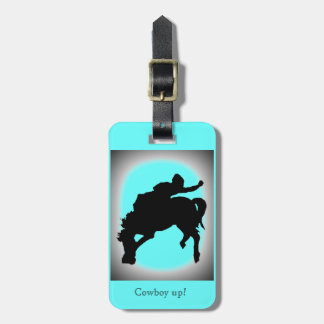 Cowboy up Collection Tag For Luggage
