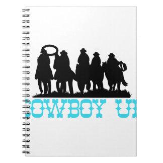 Cowboy Up Spiral Notebook