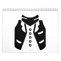 Cowboy vest calendar