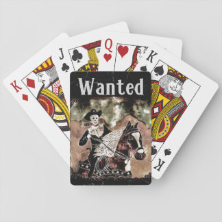 Cowboy Wanted Playing cards