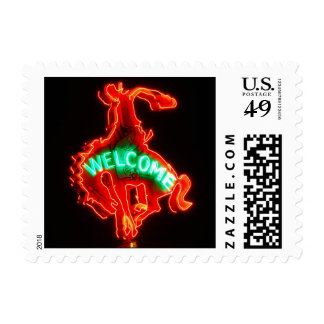 Cowboy Welcome Postage