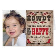 Custom Christmas Card Photo Templates