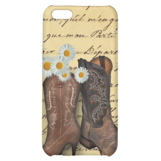 Cowboy Western Country Wedding savethedate favor iPhone 5C Cases