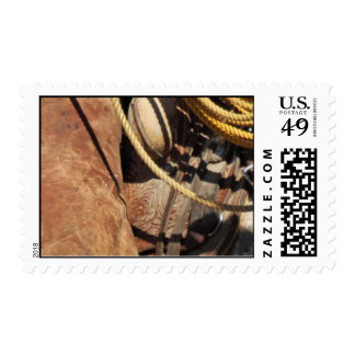 Cowboy Western Ranch postage