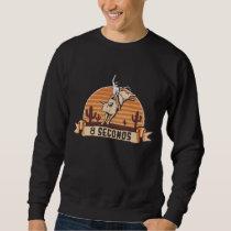 Cowboy Western Rider Bull Riding Eight Seconds Sweatshirt