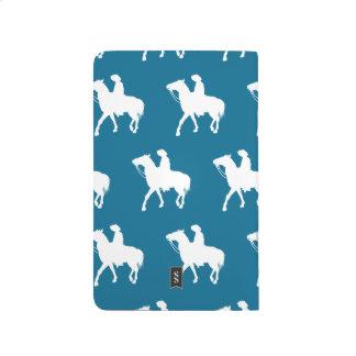 Cowboy white blue journals