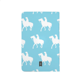 Cowboy White Light Blue Journals