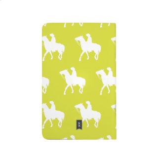 Cowboy White Yellow Journal