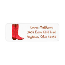Cowboy  Wild West  Address Labels