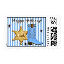 Cowboy  Wild West  Postage Stamps