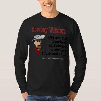 Cowboy Wisdom - Age T-Shirt